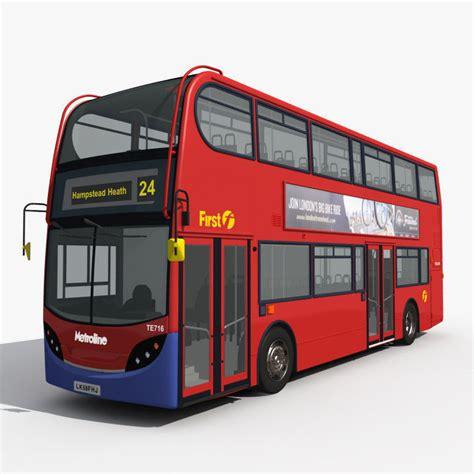 london bus  model cgtrader