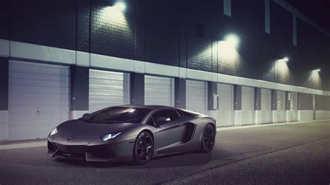 Lamborghini Aventador Lp700-4 Supercar In Night 4k Ultra
