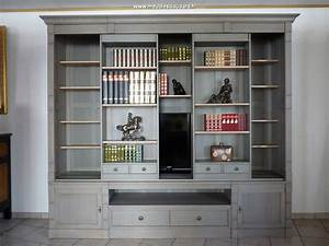 Meuble TV Bibliothque Meuble TV Rangement Bibliothque