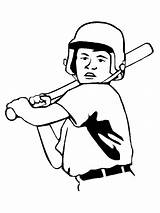 Baseball Cliparts Diamond Drawing Coloring Field sketch template