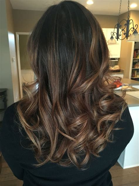 Balayage Medium Brown Thank You Salon Bliss Hair