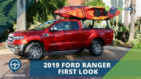 Allnew 2019 Ford Ranger Is Ready For Adventure Youtube