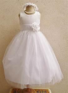 flower girl dresses white with white fd0rbp wedding With white toddler dress for wedding