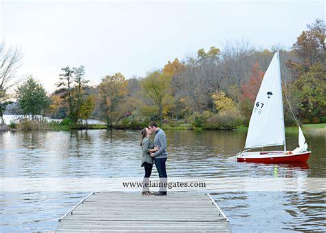 Central Park Boat Dock by Mechanicsburg Central Pa Engagement Portrait Photographer