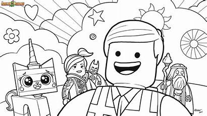 Coloring Lego Pages Block Printable