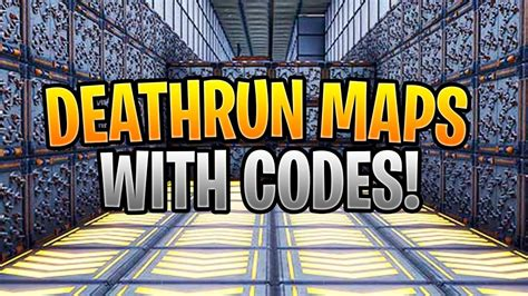fortnite deathrun maps  codes  play youtube