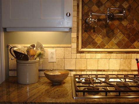 travertine tile backsplash   tumbled marble/subway tile