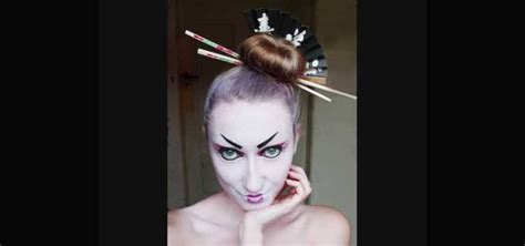deckendes make up how to create a modern geisha makeup look for
