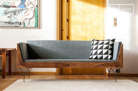 banquette canapé banquette en bois mabillon un canapé 3 places compact et