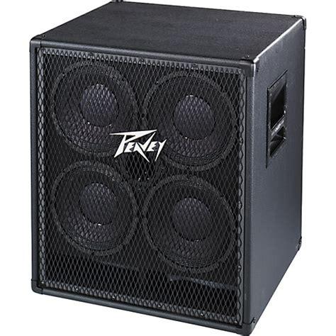 peavey bass cabinet peavey 410 tvx bass speaker cabinet musician s friend