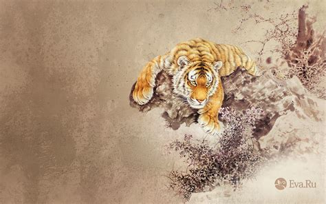 abstract animals tigers wallpapers