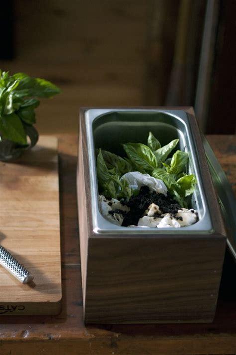 diy walnut countertop compost bin local kitchen craft