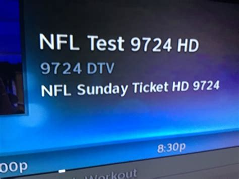 Each directv package has its own unique channel lineup. Channel 9724 on Directv. | AT&T Community Forums