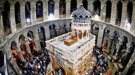 New tests at Church of Holy Sepulchre in Jerusalem reveal