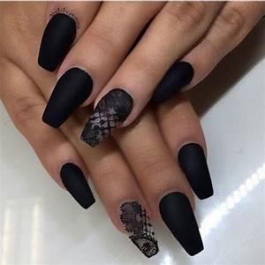 matte nail designs   Tumblr