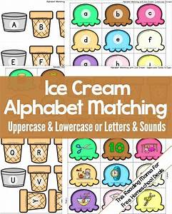 sorting letter sounds with ice cream homeschool and With alphabet letter sounds games