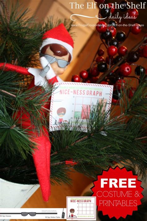 on the shelf free free on the shelf costumes and printable notes