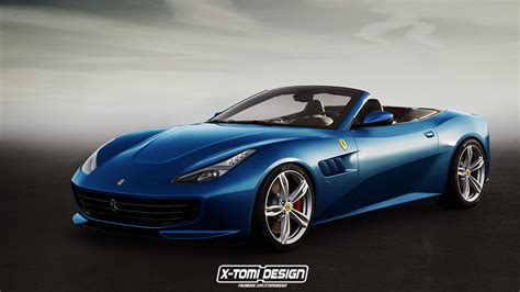 Gtc4lusso T Hd Picture by Gtc4lusso Drops Its Top In New Rendering Carscoops