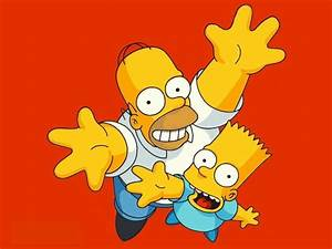 Simpsons Bart And Homer