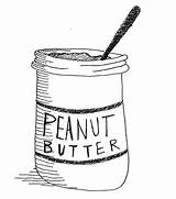 Peanut Butter Coloring Pages Jelly Clipart Clip Cliparts Lou Thelma Template Way Library Wife Sketch Templates Ve Seandietrich sketch template