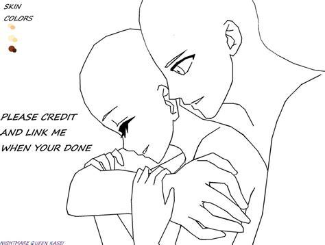 Anime Couple Base By Nightmarequeenkasei On Deviantart