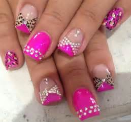 Rhinestone nail art designs beautiful