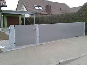 Wie Setze Ich Einen Zaun : garten und hoftor eislingen stahlbau n gele ~ Articles-book.com Haus und Dekorationen