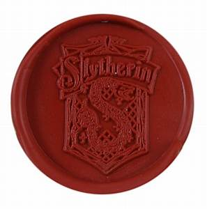 diy vintage harry potter slytherin school badge wax seal With harry potter letter seal
