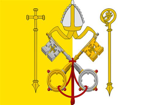 Theocratic States of the Holy See | A fictional flag in ...