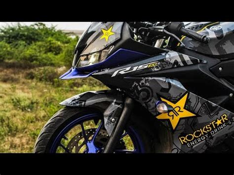 Best Modification R15 by Best Modified Yamaha R15 V3 Stickering Modification