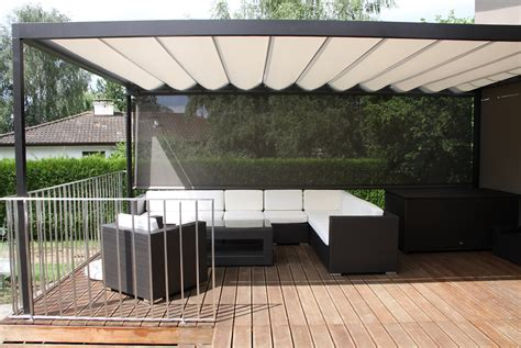sun shade  deck home design ideas