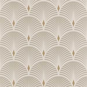 Papier Peint Noir Et Doré : papier peint baker vinyle sur intiss graphique gris et dor ~ Melissatoandfro.com Idées de Décoration