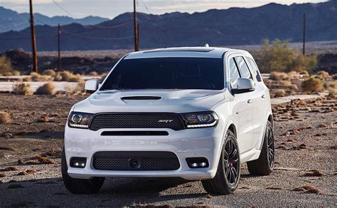 FCA readies another hot rod SUV with Dodge Durango SRT