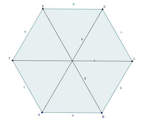 angles areas  diagonals  regular polygons