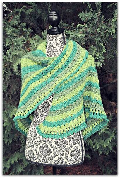 Shawl Grace Amazing Pattern Lucky Crochet Beatriceryandesigns