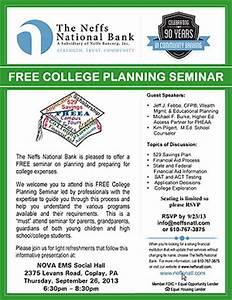 FREE College Planning Seminar   Heidelberg Township