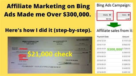 How to do Affiliate Marketing on Bing Ads. A $300,000 ...