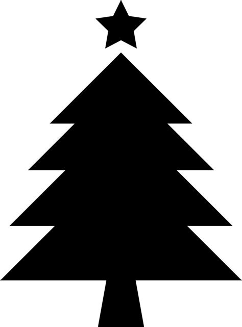 Find & download free graphic resources for christmas tree. Christmas Tree With Star Svg Png Icon Free Download ...