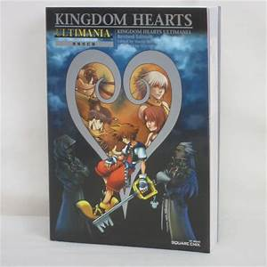 Kingdom Hearts Ultimania Revised Guide Book Ps2 Se96 Ebay
