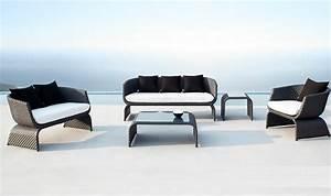 mobilier jardin exterieur design With salon de jardin moderne design