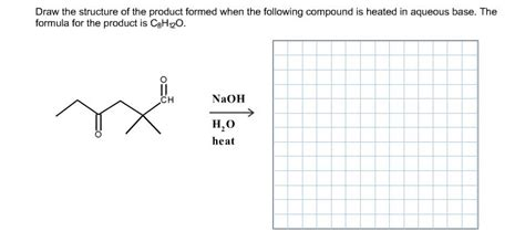 Solved Draw The Structure Of The Product Formed When The