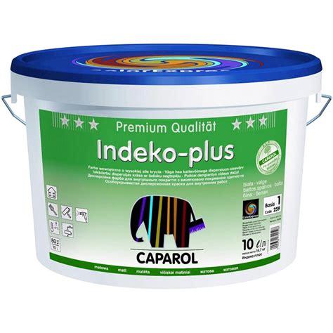 caparol wandfarbe indeko plus купить caparol indeko plus особоукрывистая дисперсионная краска для внутренних работ по цене 2