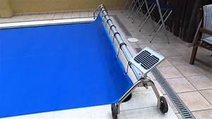 motorisation d39enrouleur de bache a bulles youtube With enrouleur bache piscine hors sol ovale