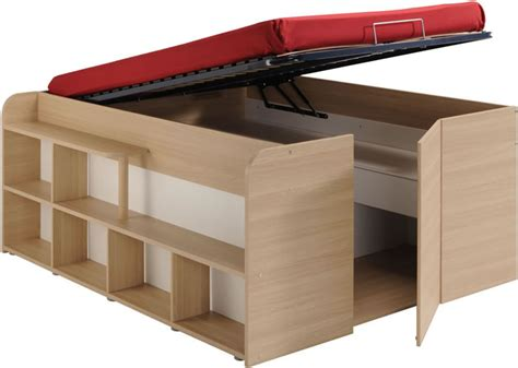 lit mezzanine 140 avec bureau parisot space up cabin bed with storage avenue