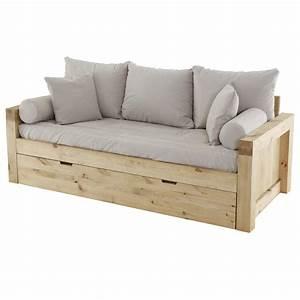 canape convertible tiroir maison design wibliacom With tapis rouge avec canapé bois massif