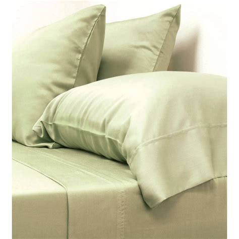Classic Bamboo Bed Sheet Set  Sage  Bedding  Bed & Bath