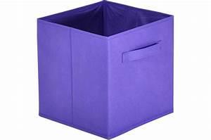 Panier Rangement Bébé Tissu : panier tiroir tissu violet lot de 10 bac de rangement ~ Dailycaller-alerts.com Idées de Décoration