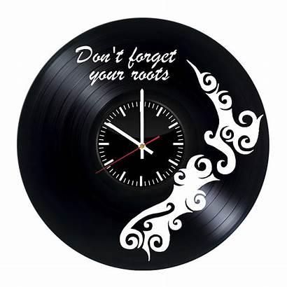 Vinyl Clock Record Clocks Wall Zeland Handmade