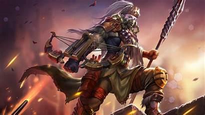 Mech Huntress Newerth Heroes 1080 1920 Bushwack