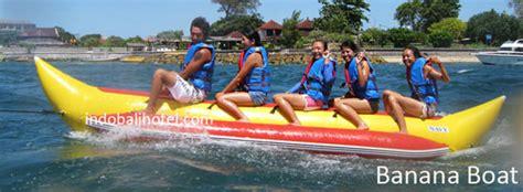 Banana Boat Ride At Tanjung Benoa by Banana Boat Water Sport In Tanjung Benoa Bali